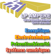 LP AMPERE - Marseille - 56 BD Romain Rolland 13010
